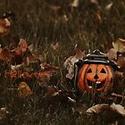 - Halloween I - greeting card by CarlaSophia