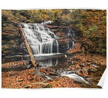 Mohican Falls October 2012 Poster