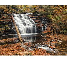 Mohican Falls October 2012 Photographic Print