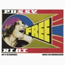 FREE PUSSY RIOT PROPAGANDA 2  by karmadesigner