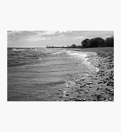 ...by the lake.......... Photographic Print