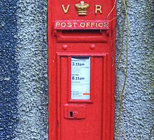 Victoria Regina Postbox by VoluntaryRanger