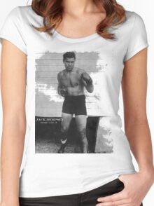 Jack Dempsey Women's Fitted Scoop T-Shirt
