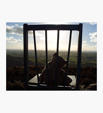 Irish Mountain Sunset Photographic Print