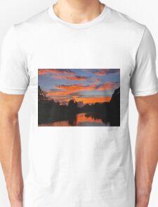 Bellinger River Sunset. Unisex T-Shirt