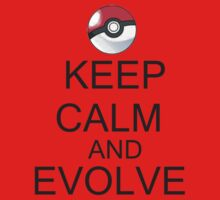 KEEP CALM AND EVOLVE One Piece - Short Sleeve