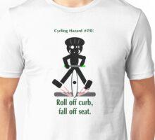 Cycling Hazards - Pedal Slips Unisex T-Shirt