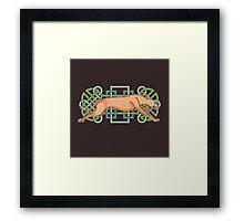 Rás Cú: Celtic Greyhound Framed Print