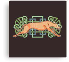 Rás Cú: Celtic Greyhound Canvas Print