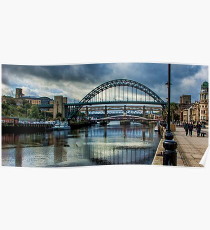 Along The Quayside Poster