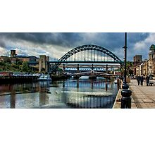 Along The Quayside Photographic Print