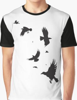 A Murder of Crows Graphic T-Shirt