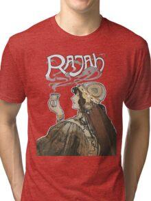 Rajah Coffee Fumes After  Henri Meunier Tri-blend T-Shirt