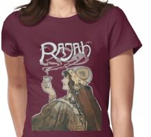 Rajah Coffee Fumes After  Henri Meunier Womens Fitted T-Shirt