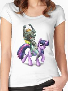 Twilight Princess Women's Fitted Scoop T-Shirt