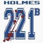 Sherlock Holmes - Team Tee by dgoring