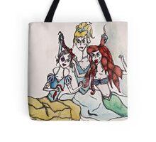 disney princess cat fight Tote Bag