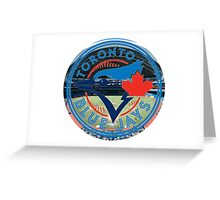 Toronto Blue Jays Stadium Logo Greeting Card