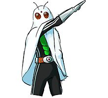Kamen Rider Ghost Spooky Pose Photographic Print