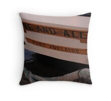Stern One and All Throw Pillow