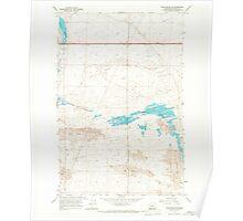 USGS Topo Map Washington State WA Winchester SE 244743 1966 24000 Poster