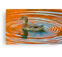 Duckcentric Canvas Print