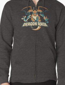 Dragon Rage Zipped Hoodie