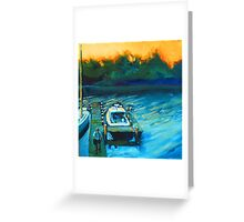 The Breezin' Thru at Whitehall Creek Greeting Card