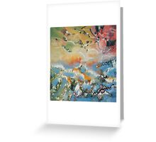 Water's Edge on Back Creek at the Annapolis Sailing School Greeting Card