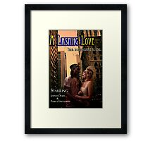 Zombies Need Love Too Framed Print