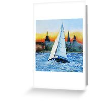 Synergy Passing Annapolis Greeting Card