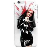 Crazy Nun iPhone Case/Skin