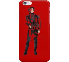 we burn you burn with us mocking jay part 2 the hunger games iPhone Case/Skin