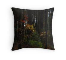 Low key foliage  Throw Pillow