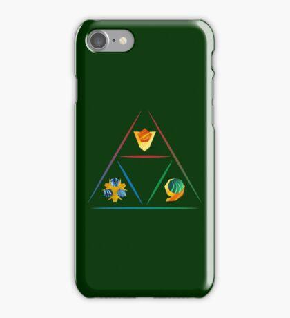 Legend of Zelda - Spirit Stone Triforce iPhone Case/Skin