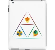 Legend of Zelda - Spirit Stone Triforce iPad Case/Skin