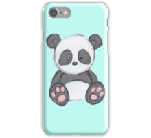 Cute Panda Drawing  iPhone Case/Skin