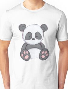 Cute Panda Drawing  Unisex T-Shirt