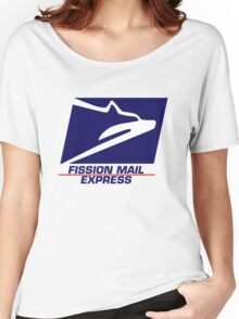 Fission Mail Express Women's Relaxed Fit T-Shirt