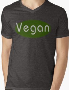 Vegan Mens V-Neck T-Shirt