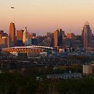 Cincy Sunset by Jeanne Sheridan