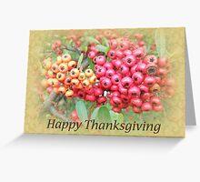 Thanksgiving Greeting Card - Oleander Berries Greeting Card