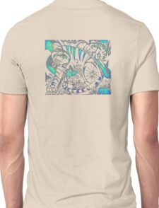 Tiger in Teal  After Franz Marc Unisex T-Shirt
