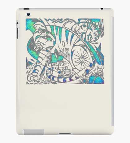 Tiger in Teal  After Franz Marc iPad Case/Skin