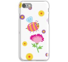 Bee a Flower iPhone Case/Skin