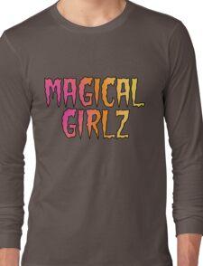 Magical Girlz Rock Black D1 Long Sleeve T-Shirt