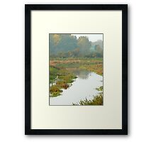 River Cuckmere in Autumn  Framed Print