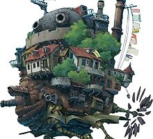 Howl's Moving Castle by sylnae