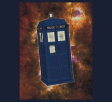 TARDIS in Space II Kids Tee
