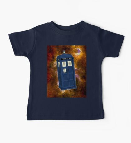 TARDIS in Space II Baby Tee